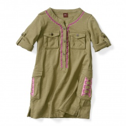 Kabini Safari Dress for Little Girls | Tea Collection
