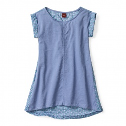 Diya Mixed Media Dress for Girls | Tea Collection