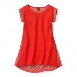 Diya Mixed Media Dress for Girls | Tea Collection