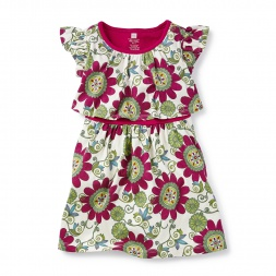 Jangala Swing Dress for Little Girls | Tea Collection