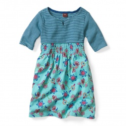 Chahna Smock Dress for Little Girls | Tea Collection