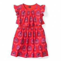Lotus Swing Dress for Little Girls | Tea Collection