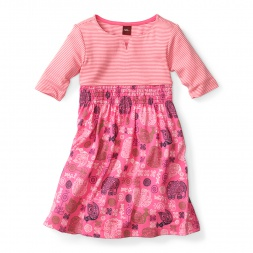 Annabelle Notch Dress for Little Girls | Tea Collection