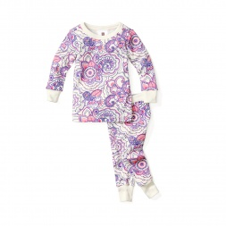 Henna Paisley Pajamas for Girls | Tea Collection