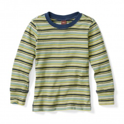 Akela Stripe Purity Tee Shirt for Boys | Tea Collection