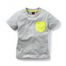 Contrast Pocket Tee