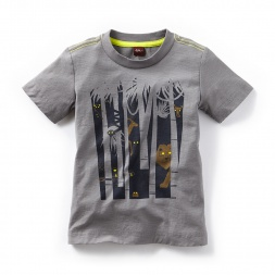 Boys Glowing Eyes Graphic Tee Shirt | Tea Collection