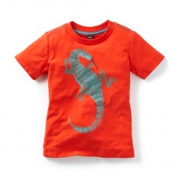 Monitor Lizard Graphic Tee Shirt for Boys | Tea Collection