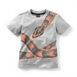 Kaa Graphic Tee for Boys | Tea Collection