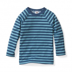 Boys Neer Stripe Rash Guard | Tea Collection
