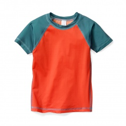 Little Boys Colorblock Rash Guard | Tea Collection