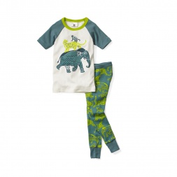 Boys Jungle Friends Pajamas | Tea Collection