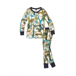 Lazing Leopards Pajamas for Boys | Tea Collection