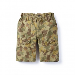Kabini Camo Ripstop Shorts for Boys | Tea Collection