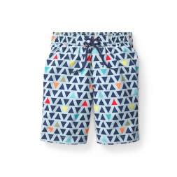 Churning Tides Board Shorts for Little Boys | Tea Collection
