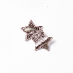 Hello Shiso Metallic Star Clips