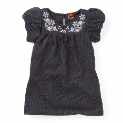 Kerala Bubble Sleeve Baby Dress for Girls | Tea Collection