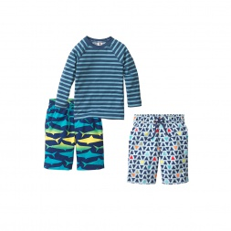 Sunning Sharks Swim Set | Tea Collection