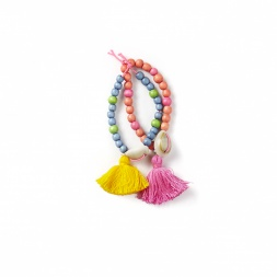 Everbloom Tassel Bead Bracelets | Tea Collection