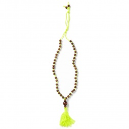 Imoga Wood Tassel Necklace | Tea Collection