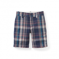 Muharram Plaid Shorts | Tea Collection