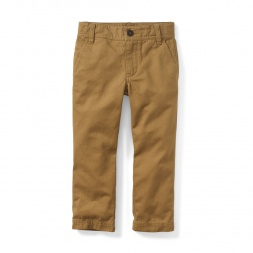 Solid Slim Chinos | Tea Collection