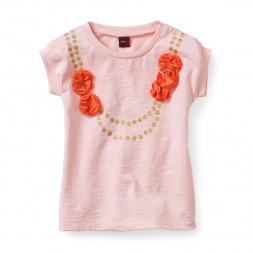 Marigold Necklace Graphic Tee