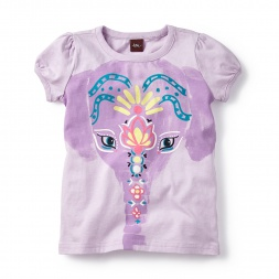 Painted Elephant Graphic Tee