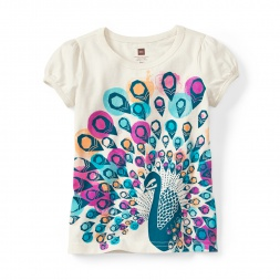Mayura Peacock Graphic Tee