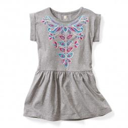 Karini Graphic Dress | Tea Collection