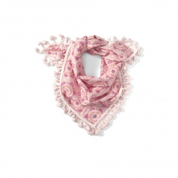Pink Palace Mandala Scarf | Tea Collection