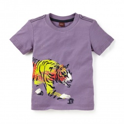 Painted Tiger Graphic Tee | Tea Collection