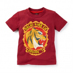 Delhi Fire Graphic Tee