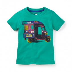 Auto Rickshaw Photo Tee | Tea Collection