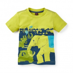 Jaipur Streets Graphic Tee