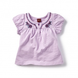 Baby Girl Anjali Embroidered Top | Tea Collection