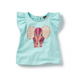 Baby Ganesha  Graphic Tee | Tea Collection