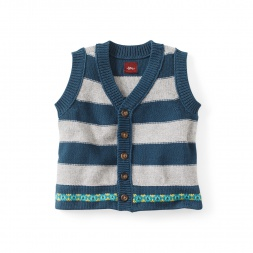 Eden Gardens Sweater Vest | Tea Collection