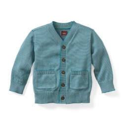 Kavi Striped Baby Cardigan | Tea Collection