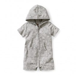 Parmeet Paisley Hooded Romper | Tea Collection