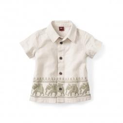 Balarama Border Baby Shirt