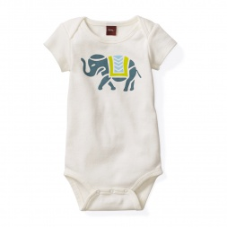 Amer Elephant Graphic Bodysuit | Tea Collection