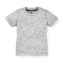 Parmeet Paisley Tee | Tea Collection