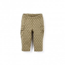 Juhi Sknny French Terry Cargos for Baby Girls | Tea Collection