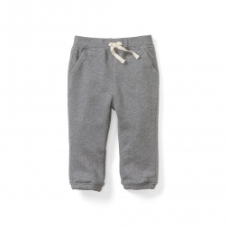 Heathered Baby Pants for Boys | Tea Collection