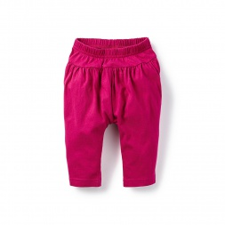 Solid Baby Harem Pants for Girls | Tea Collection