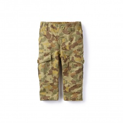 Boy Kabini Camo Ripstop Baby Pants | Tea Collection