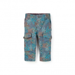 Forest Camo Baby Pants for Boys | Tea Collection