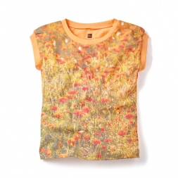 Marigold Fields Photo Tee