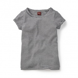 Seaworthy Stripes Tee Shirt for Little Girls | Tea Collection